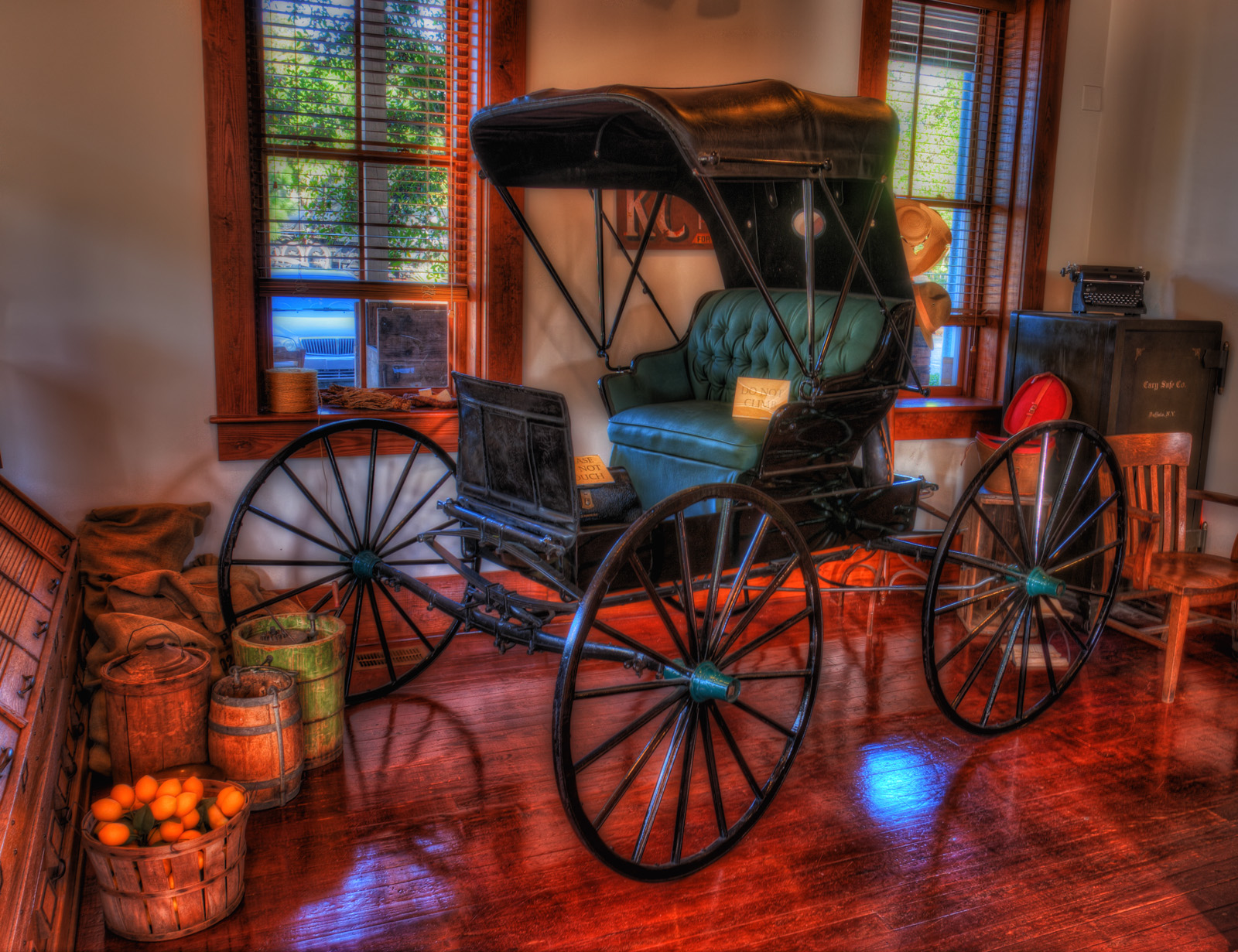 Buggy at Manatee Village Historical Park