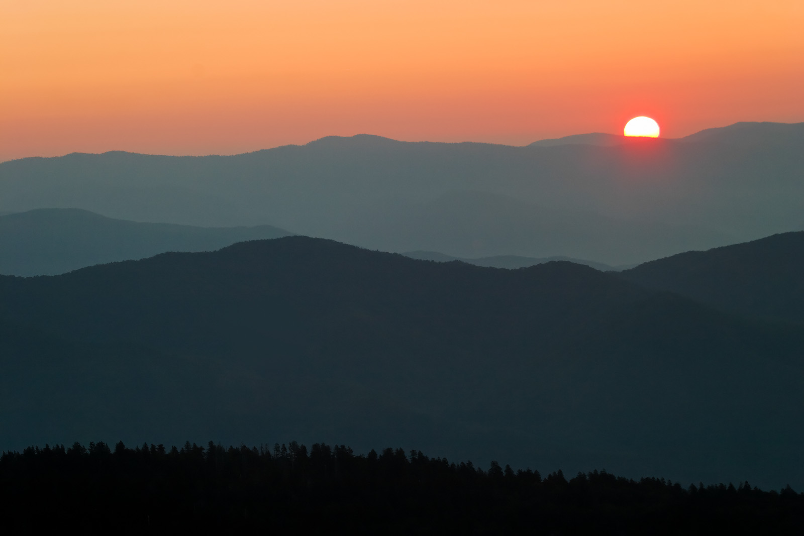 Clingmans Dome Sunrise