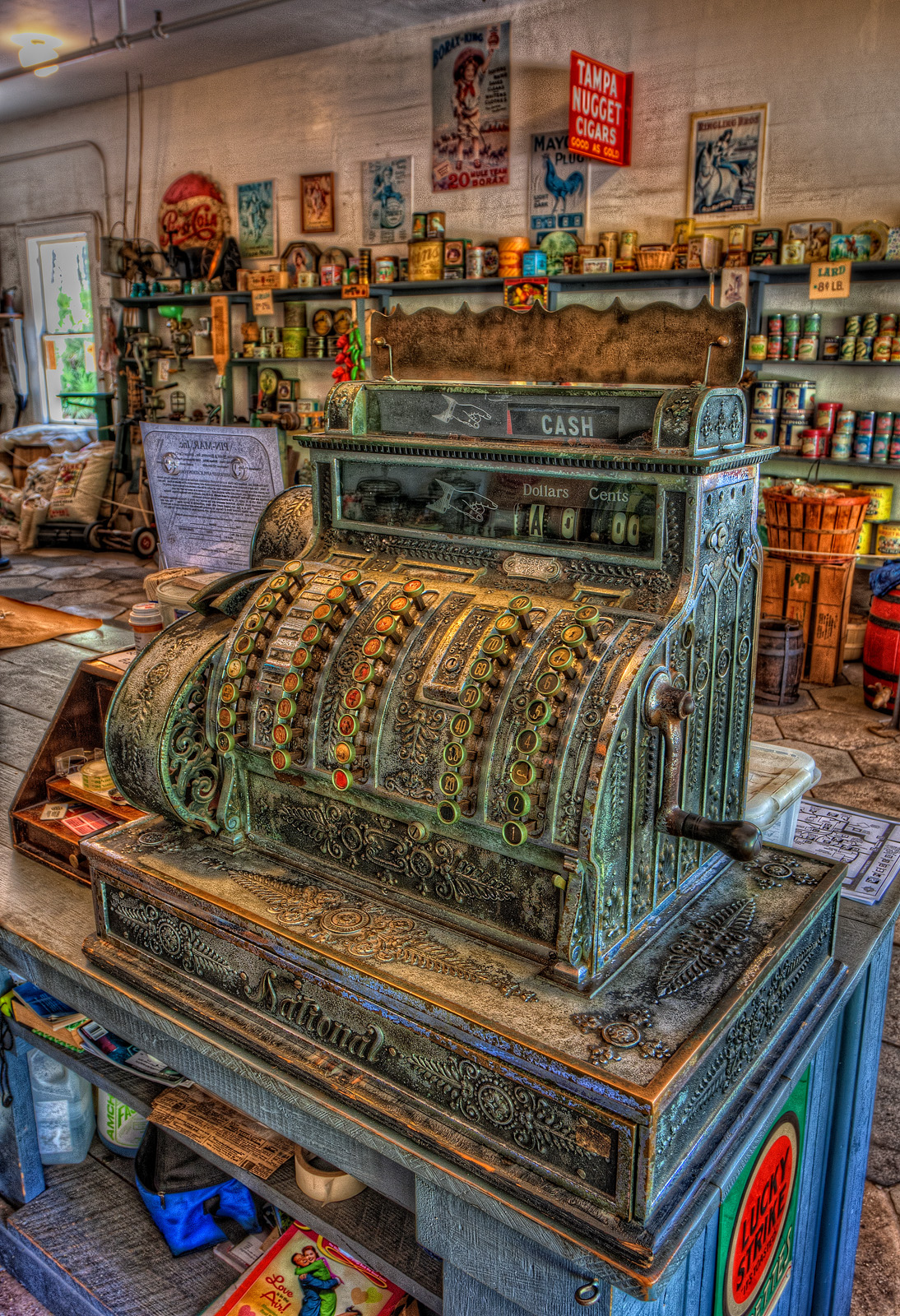 Cash Register at Heritage Village