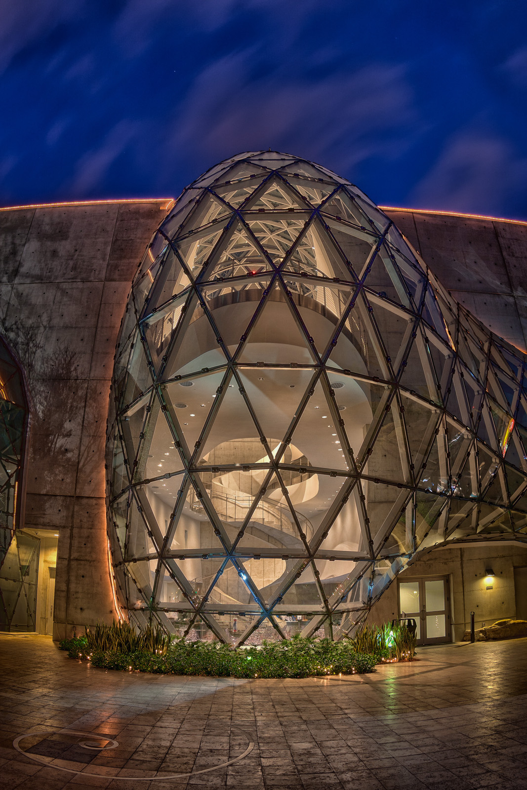 Dali Museum at Night