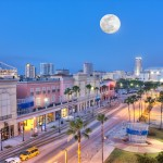 Channelside Moonset