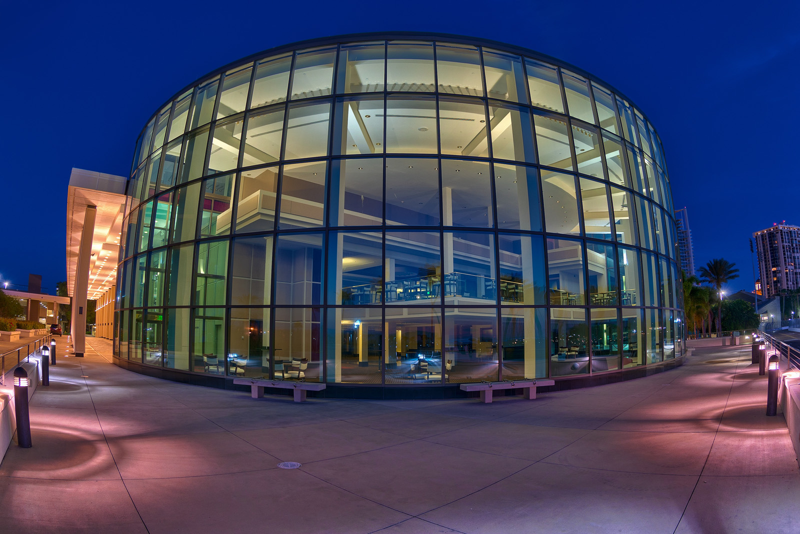 Mahaffey Theater Fisheye