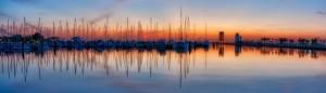 St Petersburg Sailboat Sunrise