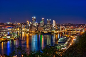 Pittsburgh at Night Last Shot