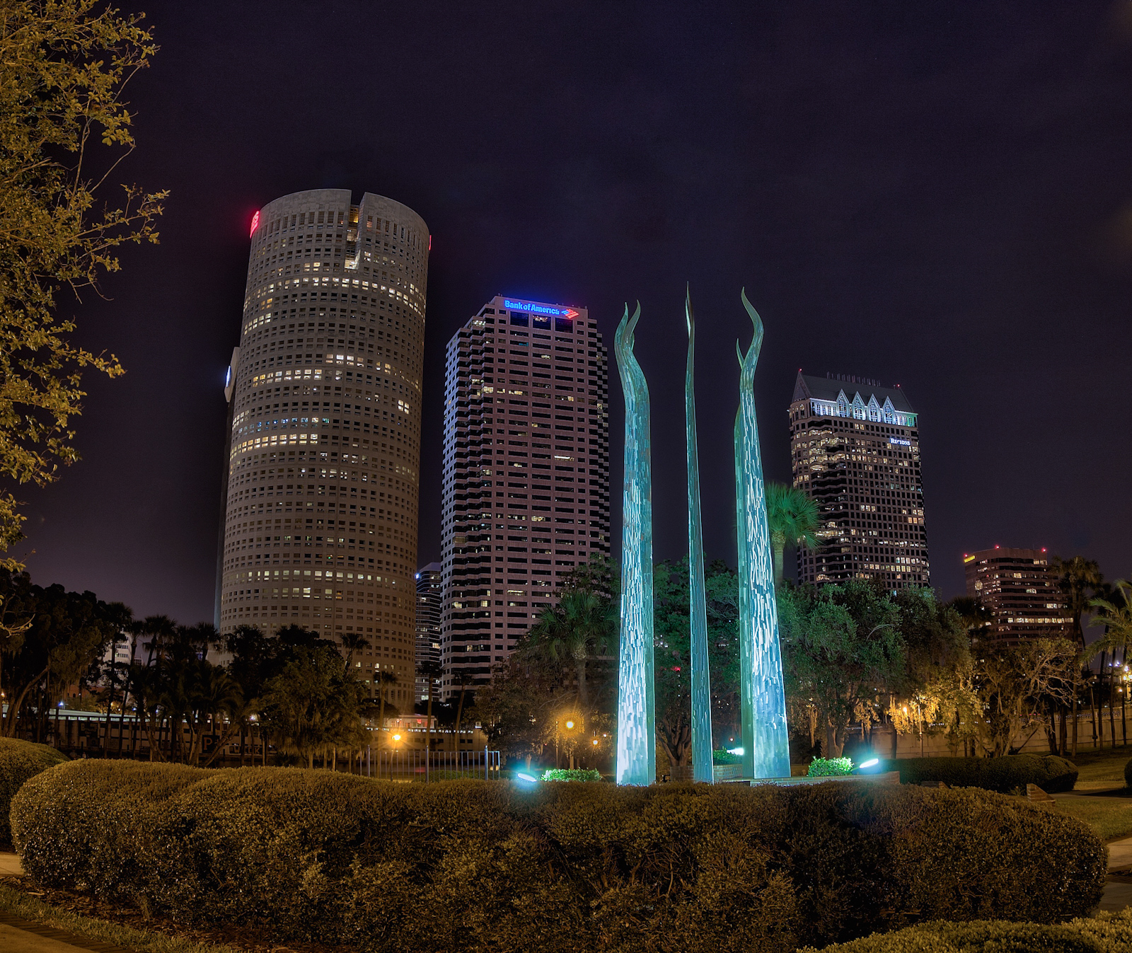 Different Views of Tampa