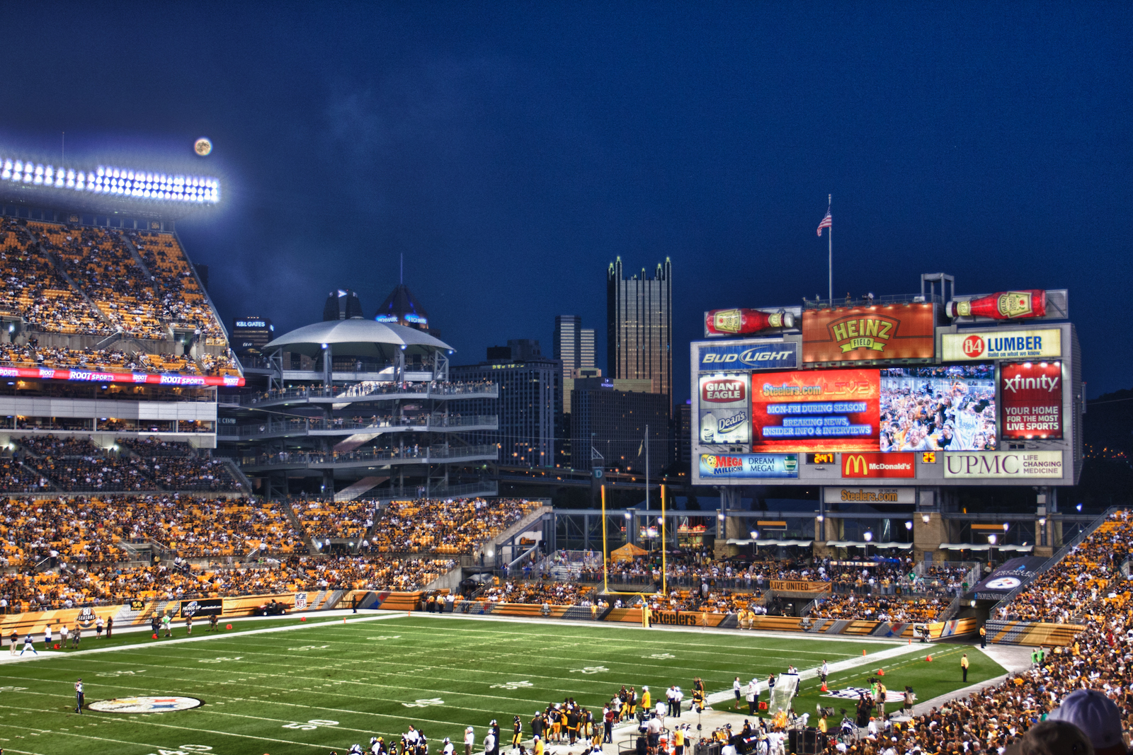 Image result for heinz field