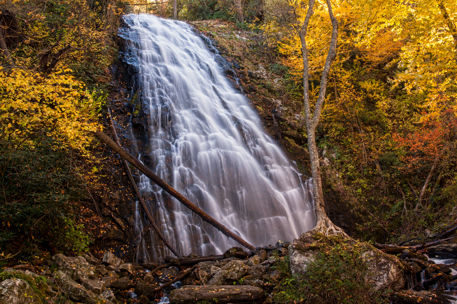 Crabtree Falls and Graveyard Falls