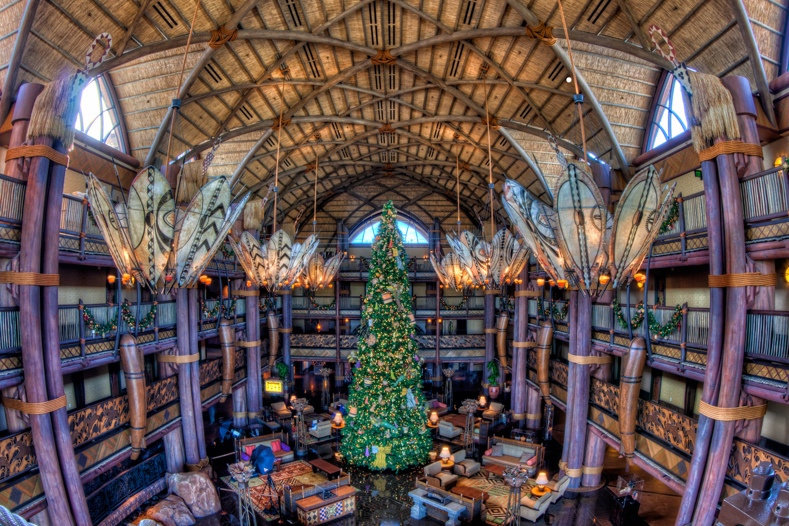 Animal Kingdom Lodge Lobby