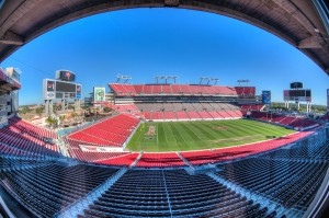 Raymond James Stadium Fisheye