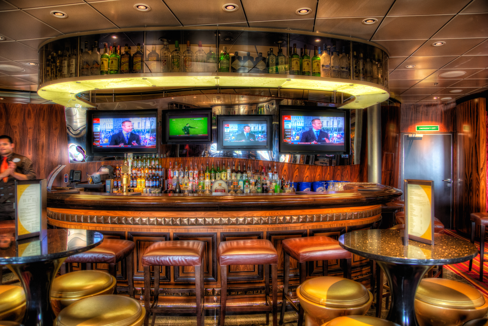 Disney dream the district lounge and 687 sports bar matthew paulson photography - Images of bars ...