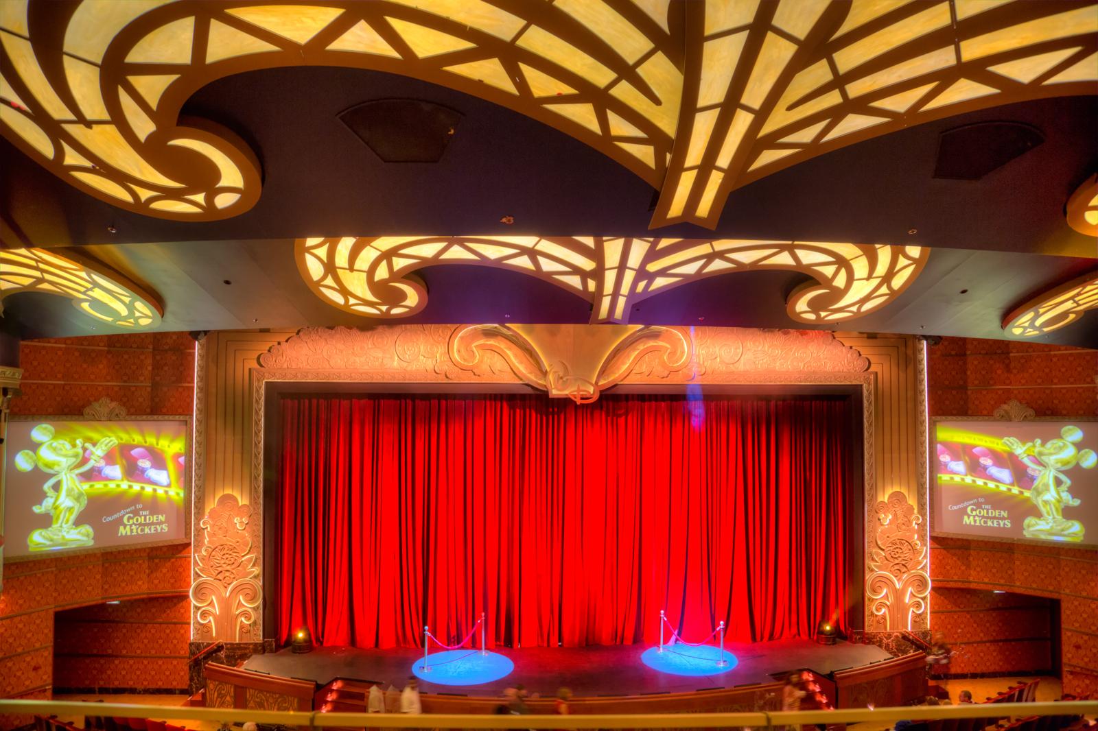Disney Dream Chandelier And Walt Disney Theater Matthew Paulson