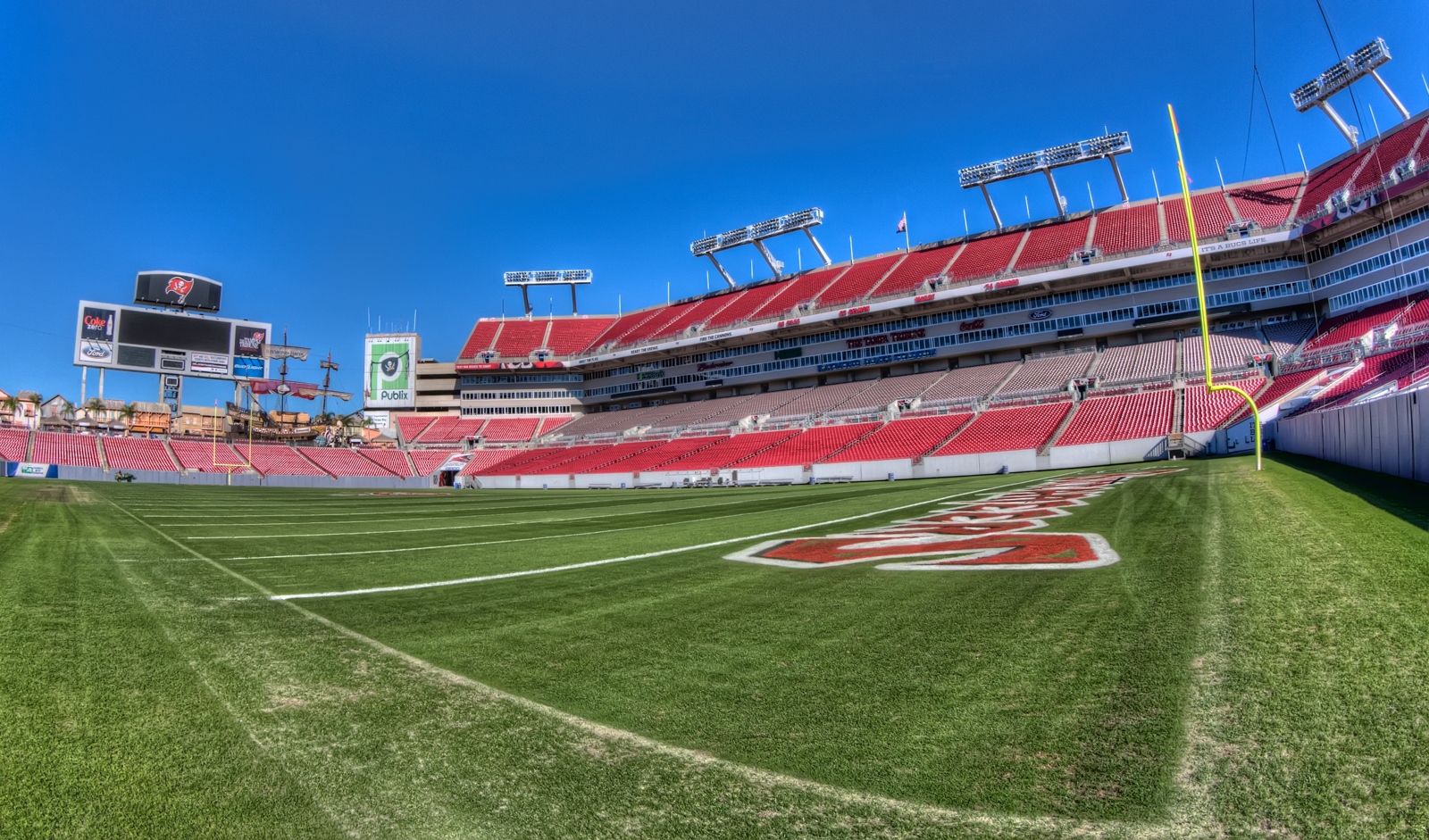 Field at Raymond James Stadium