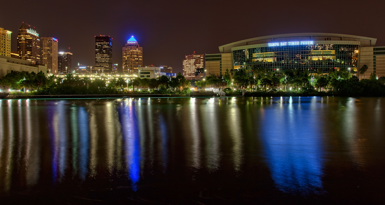 Tampa Bay Times Forum and Plant Museum
