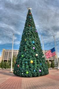 Contemporary Hotel Christmas Tree