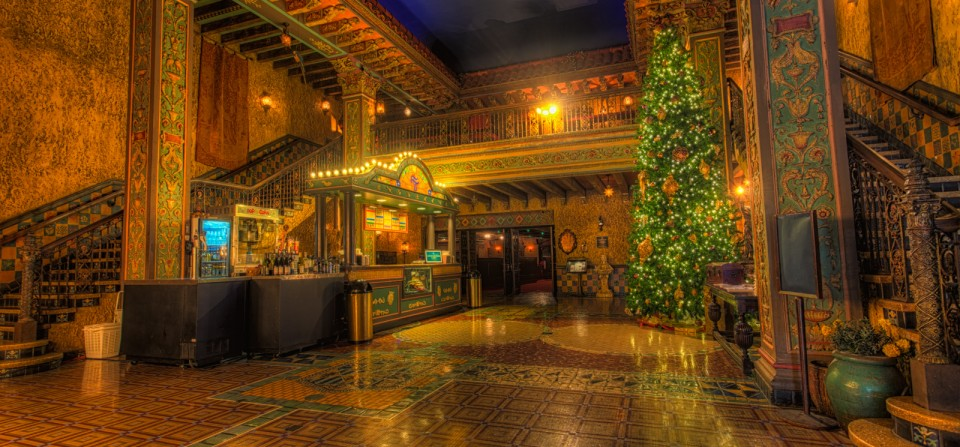 Tampa Theater Christmas
