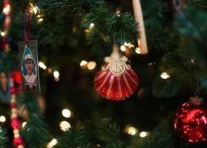 Victorian Ornament on Basball Tree