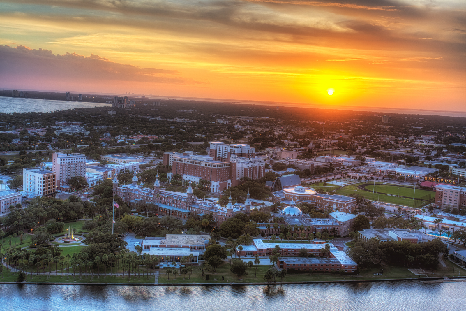 University of Tampa Sunset