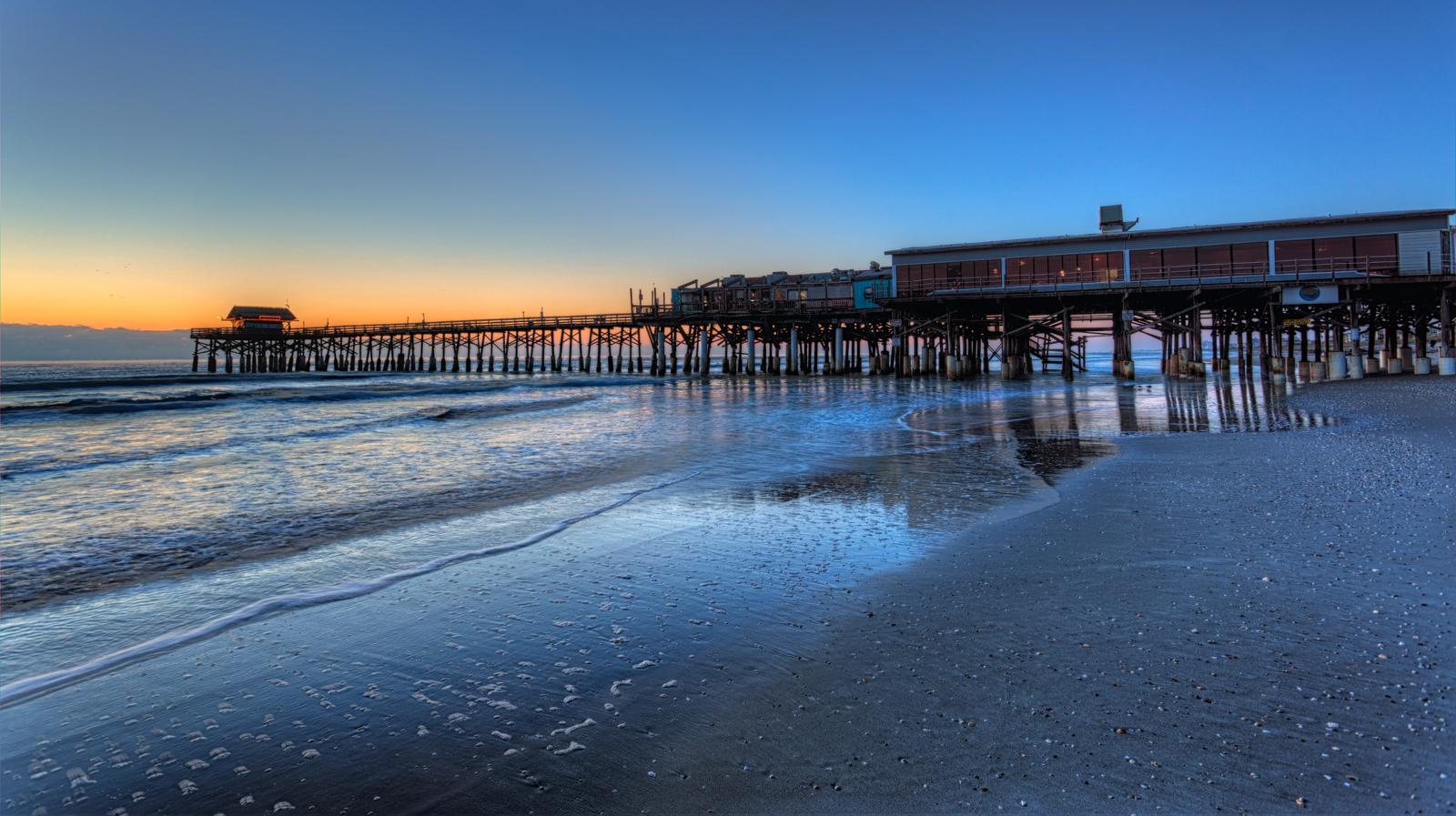 Cocoa Beach Pier Dawn