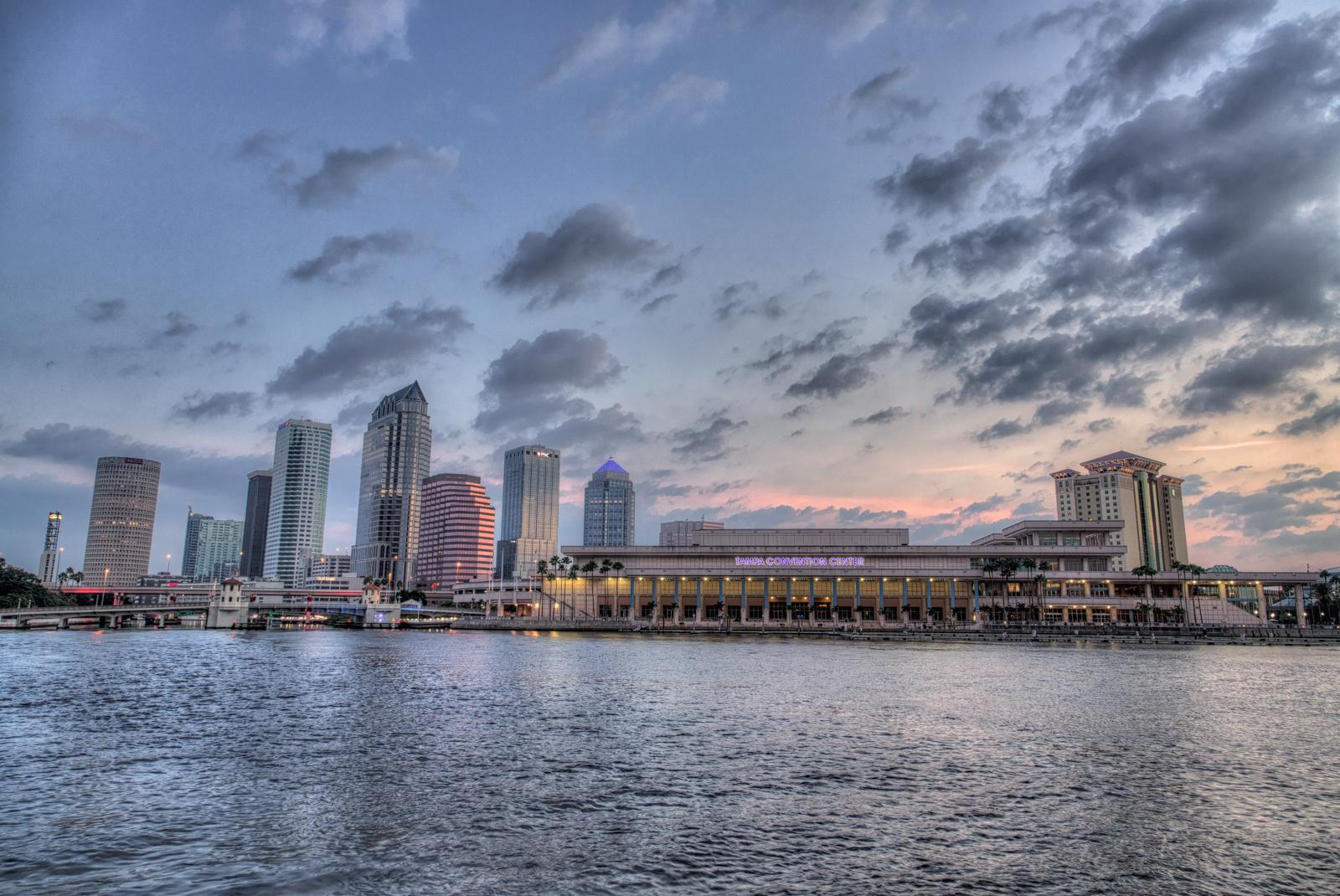 Tampa Blue Tones