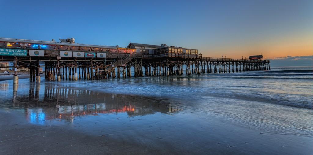 Cocoa beach orange and blue matthew paulson photography for Cocoa beach pier fishing
