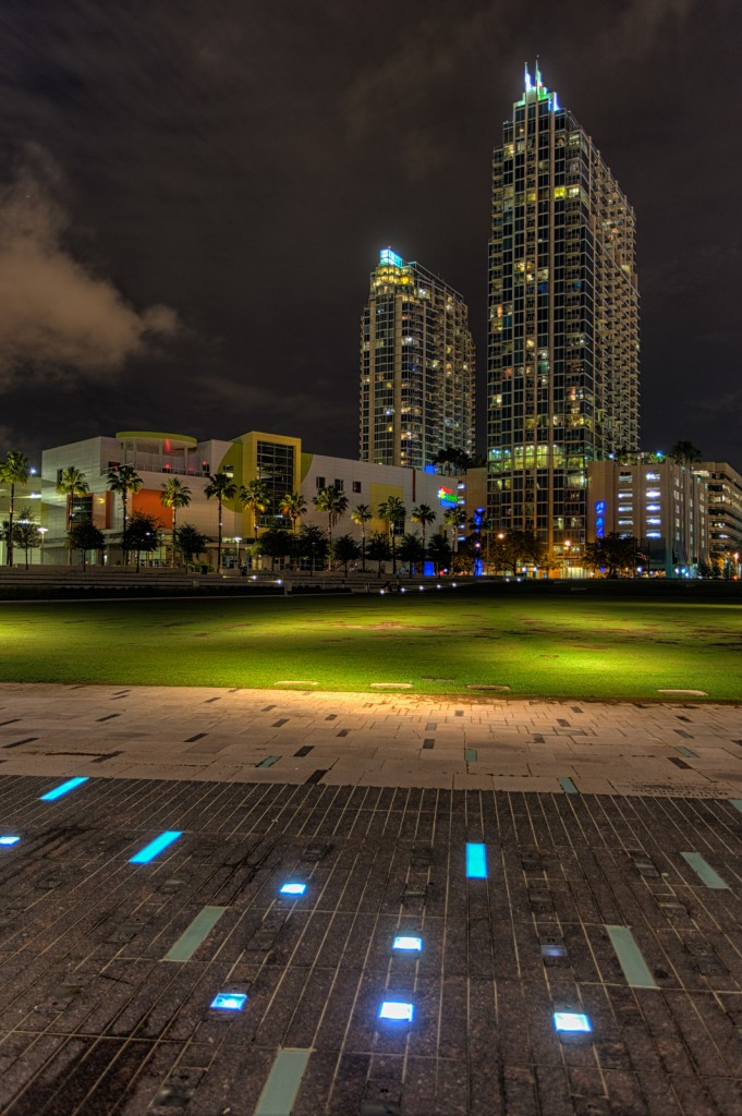 Skypoint and Element Across Curtis Hixon Park