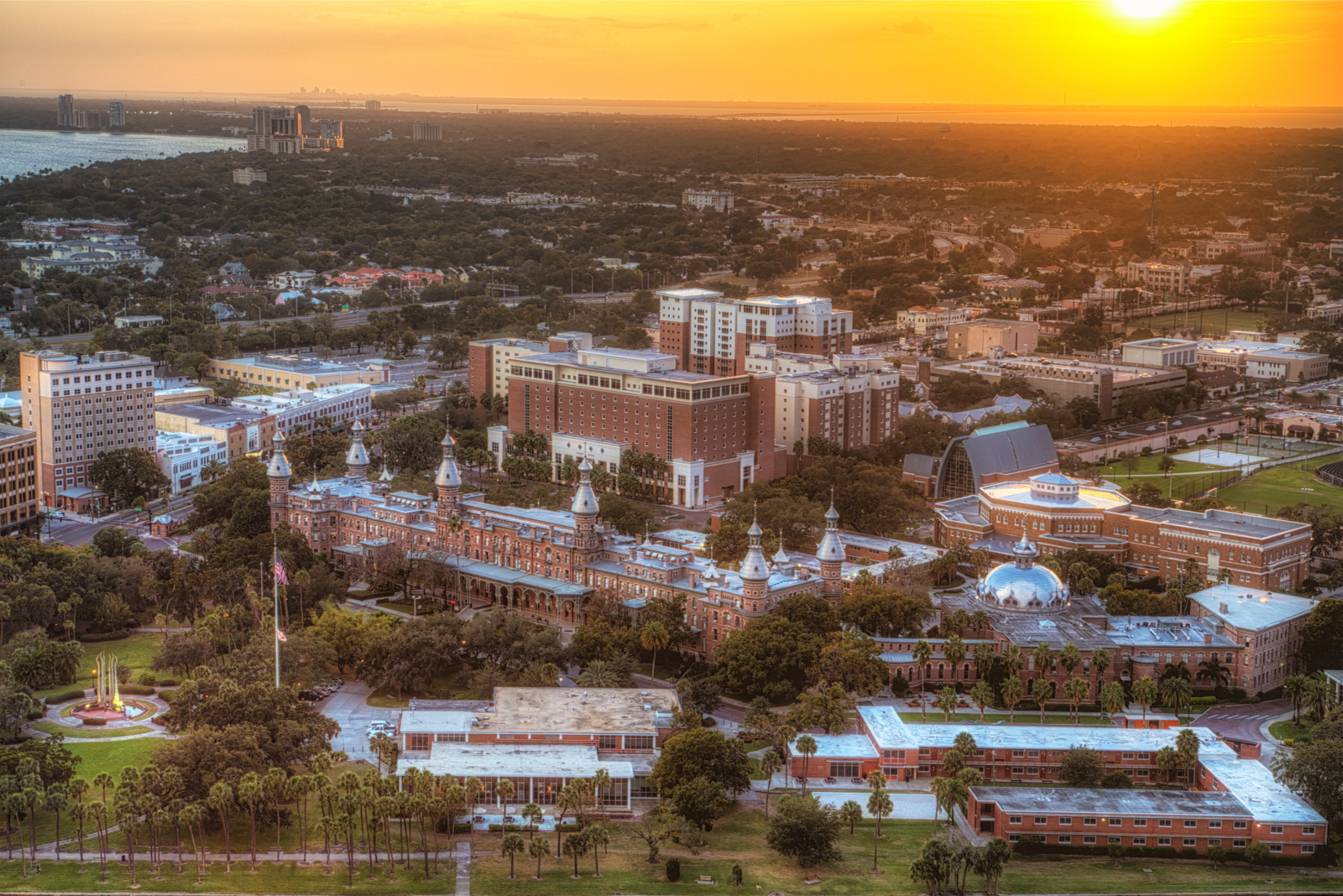 University of Tampa Orange Glow