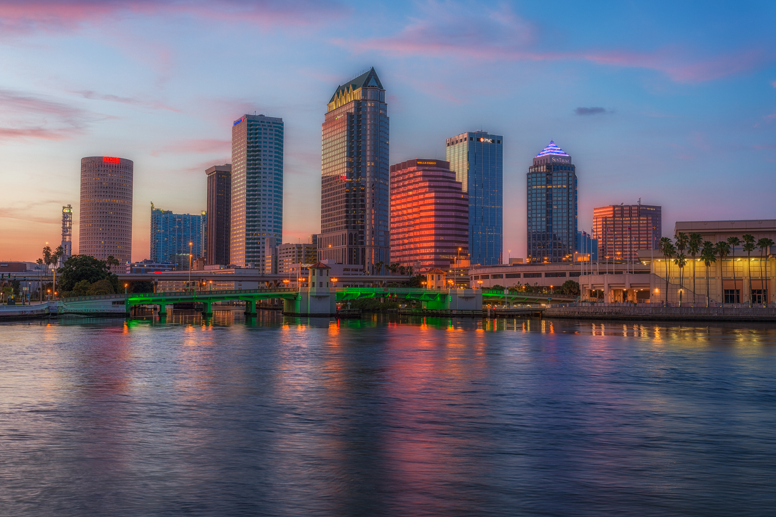 Tampa After Sunset Tight