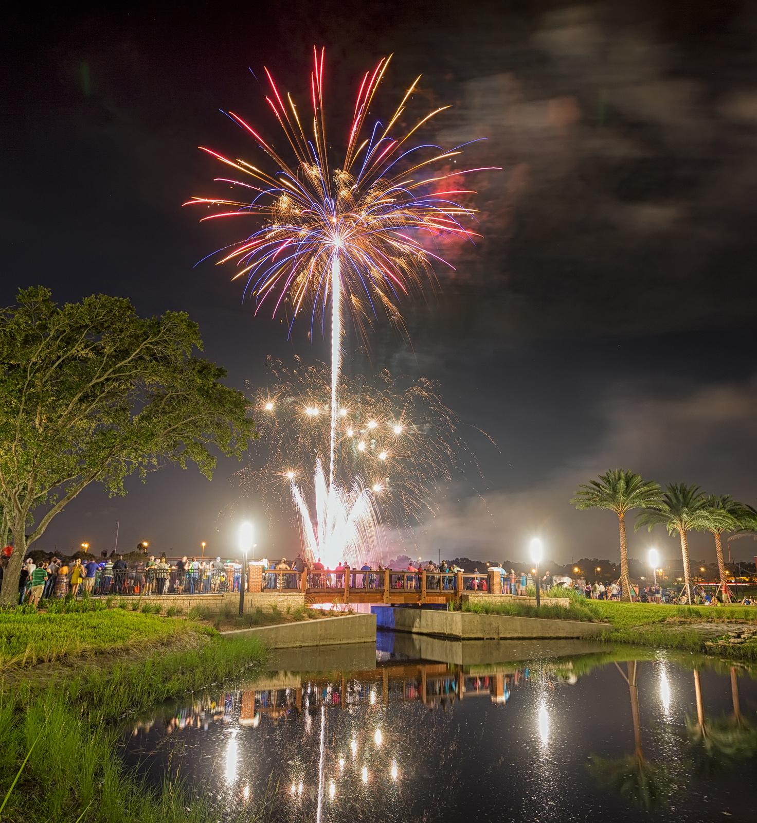 Waterworks Park Fireworks Preview