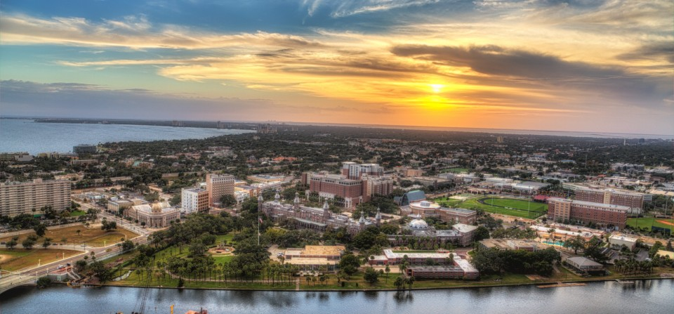 From the Archives: Tampa from Skypoint