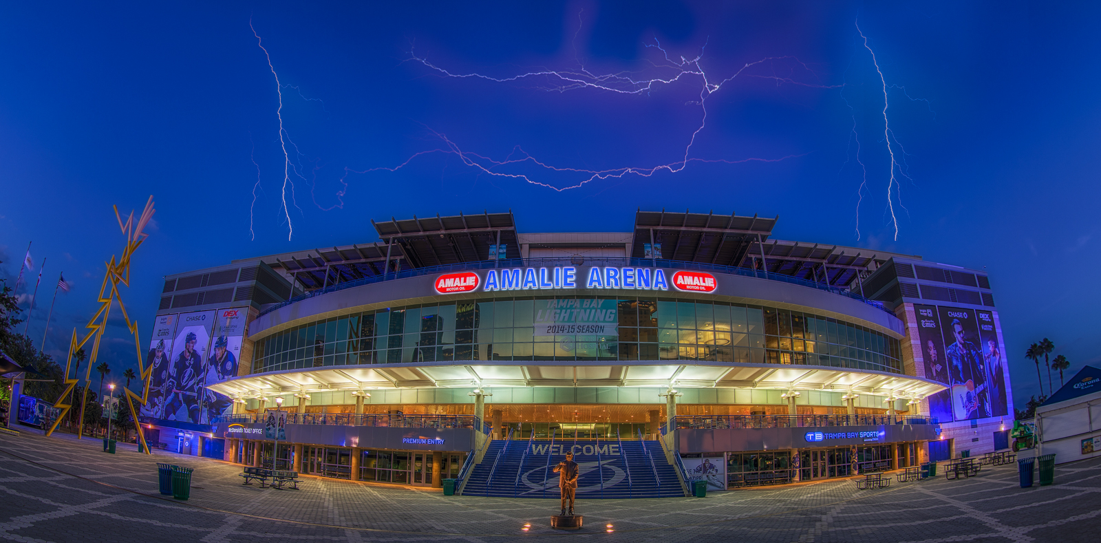Amalie Arena Home of the Lightning