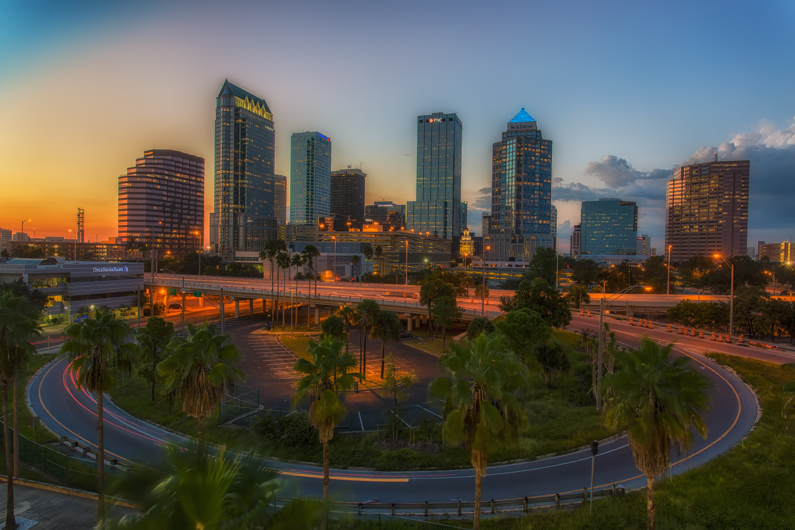 Around Tampa Dusk