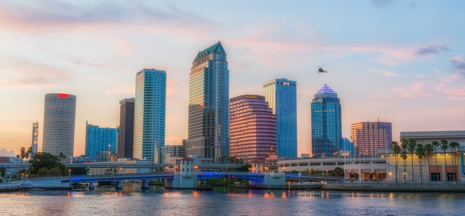 Tampa Skyline Views
