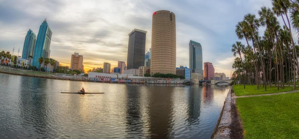Plant Park Sunrise, Tampa