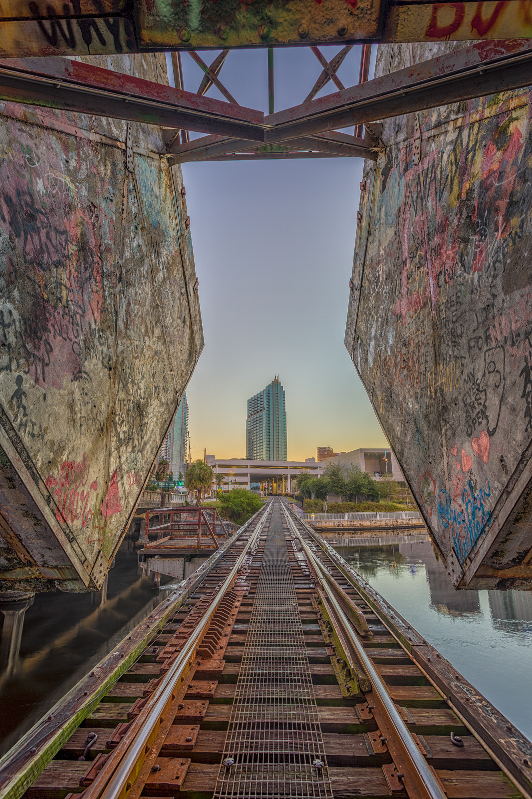 Train Tracks to Skypoint