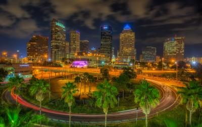 Around Tampa Night Merged