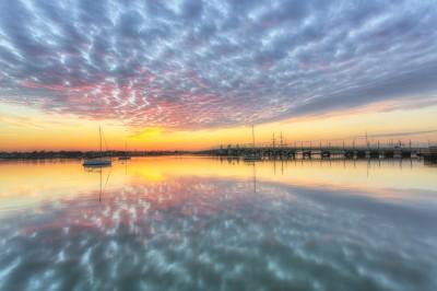 Matanzas River Cloudy Sunrise