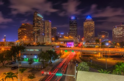North Florida Avenue through Tampa