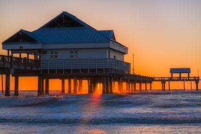 Pier 60 Glowing Sunset Reedit