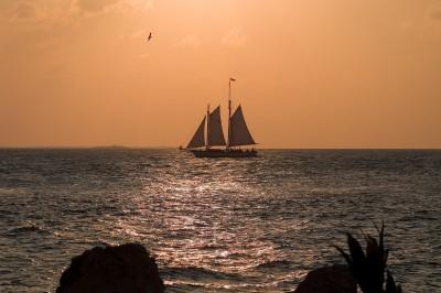 Sailboat Sunset Key West