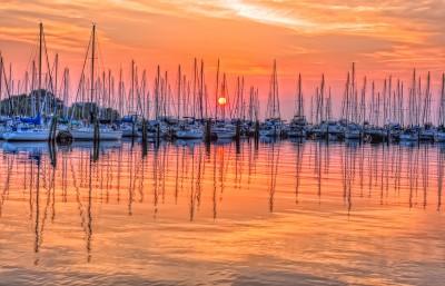 St Pete Harbor Sunrise