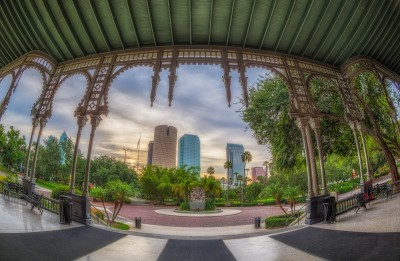 Tampa from the Porch at the University of Tampa