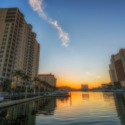 Garrison Channel Sunset, Tampa, Florida