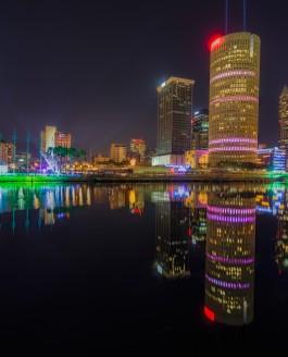 Last Lights on Tampa post