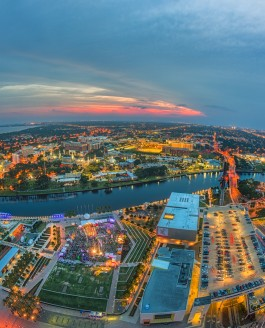 Tampa from Skypoint