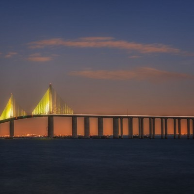 Skyway Bridge AM 3_14, St Petersburg, Florida