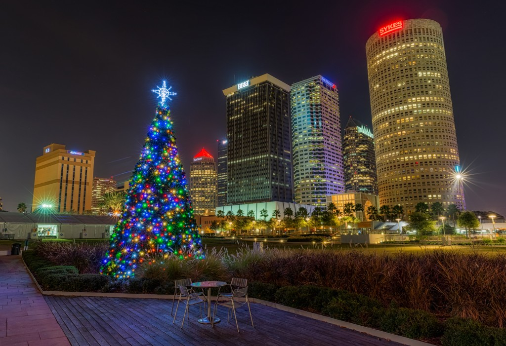 Tampa's Christmas Tree, Tampa, Florida