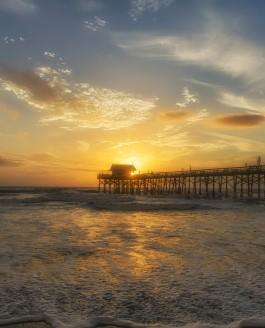 Cocoa Beach Pier Sunrise