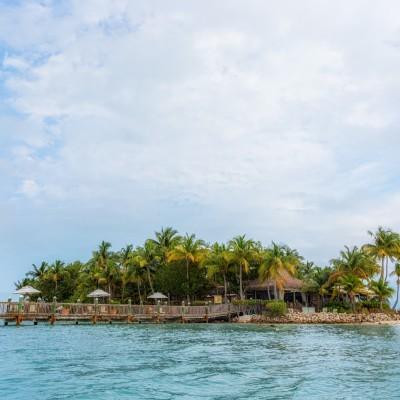 Little Palm Island from Kayak, Florida Keys