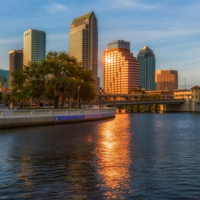 Bayshore leading to Downtown Tampa, Tampa, Florida