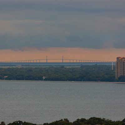 Skyway Bridge over Bayshore Boulevard, Tampa, Florida